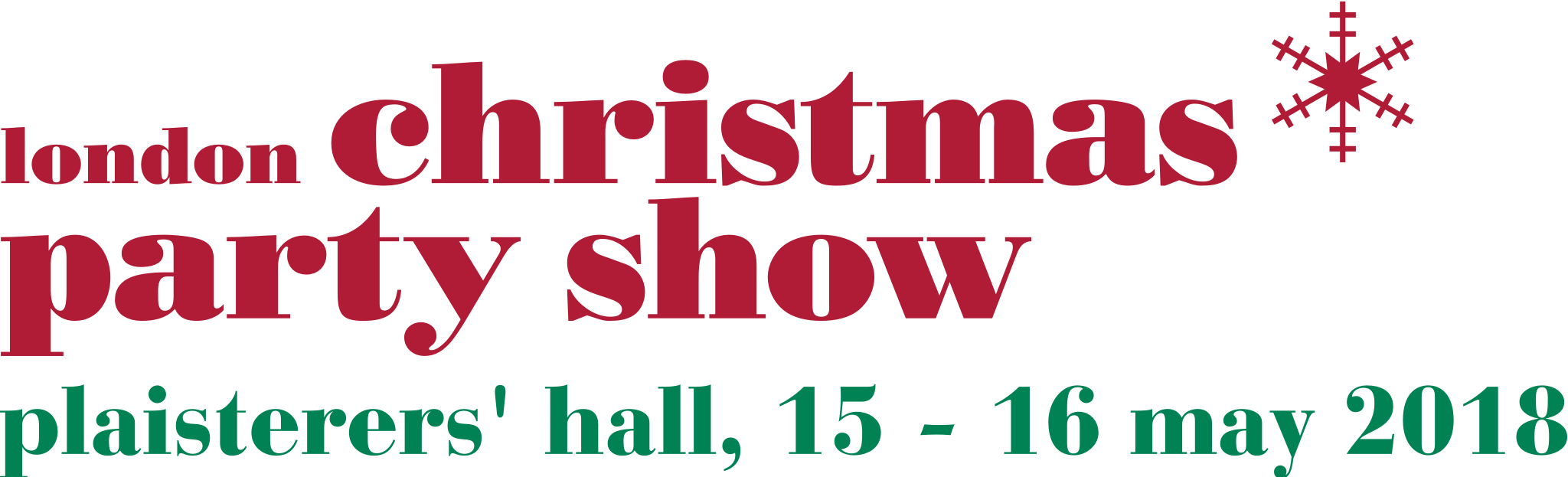 London Christmas Party Show 2018